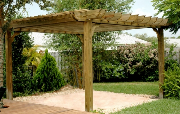 Garden pergola designs ideas on a budget gardening ideas for Garden design kits